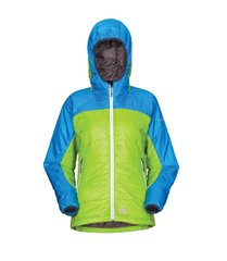 Куртка Milo Bomo Lady, Green/blue/grey, Primaloft, Утепленные, Для женщин, S, Без мембраны