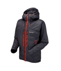 Куртка Montane Flux Jacket, black, Primaloft, Для мужчин, M, Без мембраны