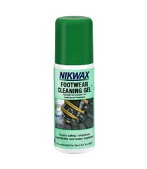 Средство для чистки обуви Nikwax Footwear Cleaning Gel 125ml, green, Средства для стирки, Для обуви, Для синтетики, Великобритания, Великобритания