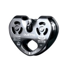 Блок-ролик Climbing Technology Duetto, grey, Блок, Дюралюминий, Италия, Италия