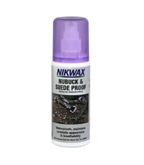 Пропитка для обуви Nikwax Nubuck and Suede Spray 125ml, purple, Средства для пропитки, Для обуви, Для нубука и замши, Великобритания, Великобритания