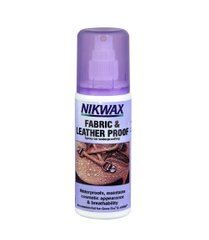 Пропитка для обуви Nikwax Fabric and Leather Spray 125ml, purple, Средства для пропитки, Для обуви, Великобритания, Великобритания