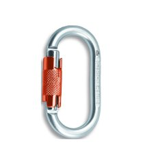 Карабин Rock Empire Steel Carabiner O KL-2T Black, silver