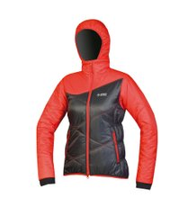 Куртка Directalpine Sella 1.0, black/red, Primaloft, Утепленные, Для женщин, XS, Без мембраны