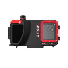 Кейс для телефона SeaLife SportDiver Underwater Housing for iPhone, black/red, Герметичные контейнеры