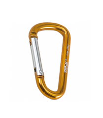 Брелок-карабин Rock Empire Promo Carabiner, gold