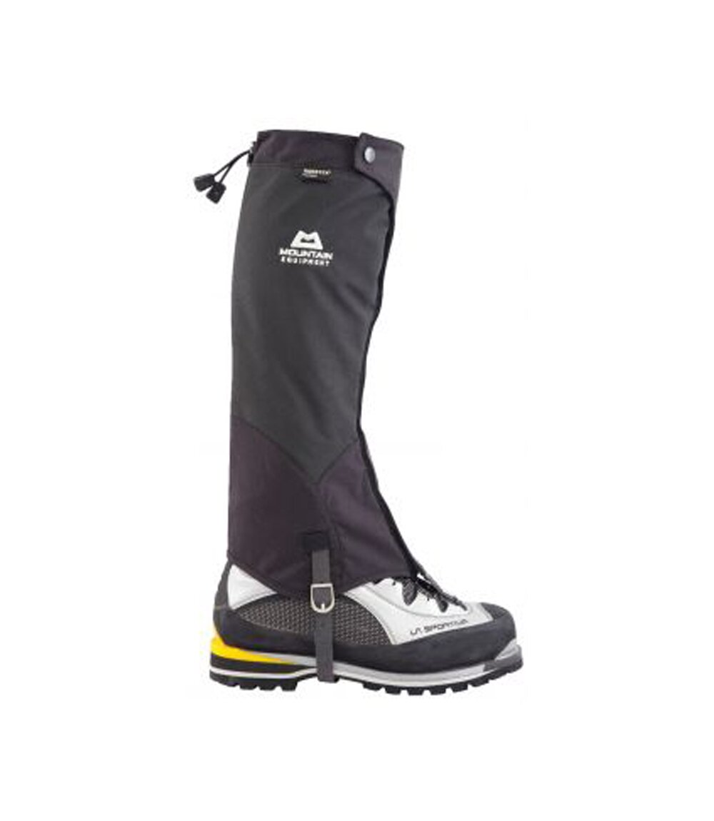 Бахилы Mountain Equipment Alpine Pro Shell Gaiter, black, S, Высокие, С мембраной