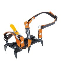 Полукошки Climbing Technology Mini Crampon 6P, orange/black, Кошки