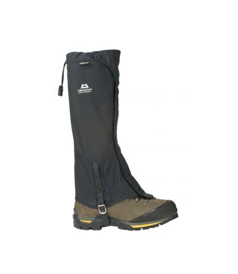 Бахилы Mountain Equipment Glacier Gaiter, black, M, Высокие, С мембраной