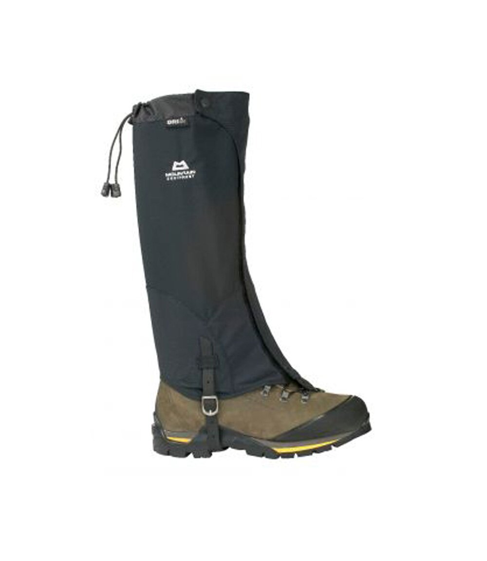 Бахилы Mountain Equipment Trail DLE Gaiter, black, S, Высокие, С мембраной