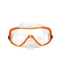 Маска Marlin Look, orange, Для дайвинга, Cтандартная, One size