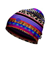 Шапка H.A.D. Printed Fleece Beanie Himba, Multi color, 54-63, Унисекс, Шапки