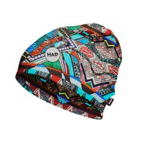Шапка H.A.D. Printed Fleece Beanie Takari, Multi color, 54-63, Унисекс, Шапки