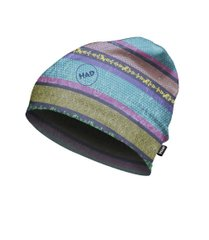 Шапка H.A.D. Printed Fleece Beanie Voll Bock, Multi color, 54-63, Унисекс, Шапки