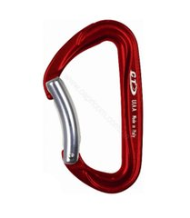 Карабин Climbing Technology Passion Bent цветной, red