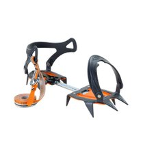 Кошки Climbing Technology Nevis Ice 10P, black/orange, Кошки, Мягкие