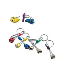 Брелок-закладка Rock Empire Keyring Brass, Multi color